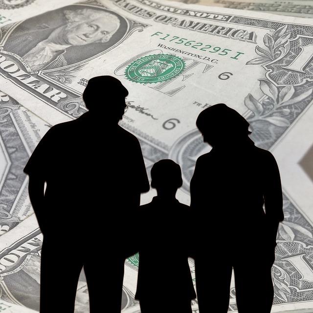 Geld oder Liebe und Kinder
